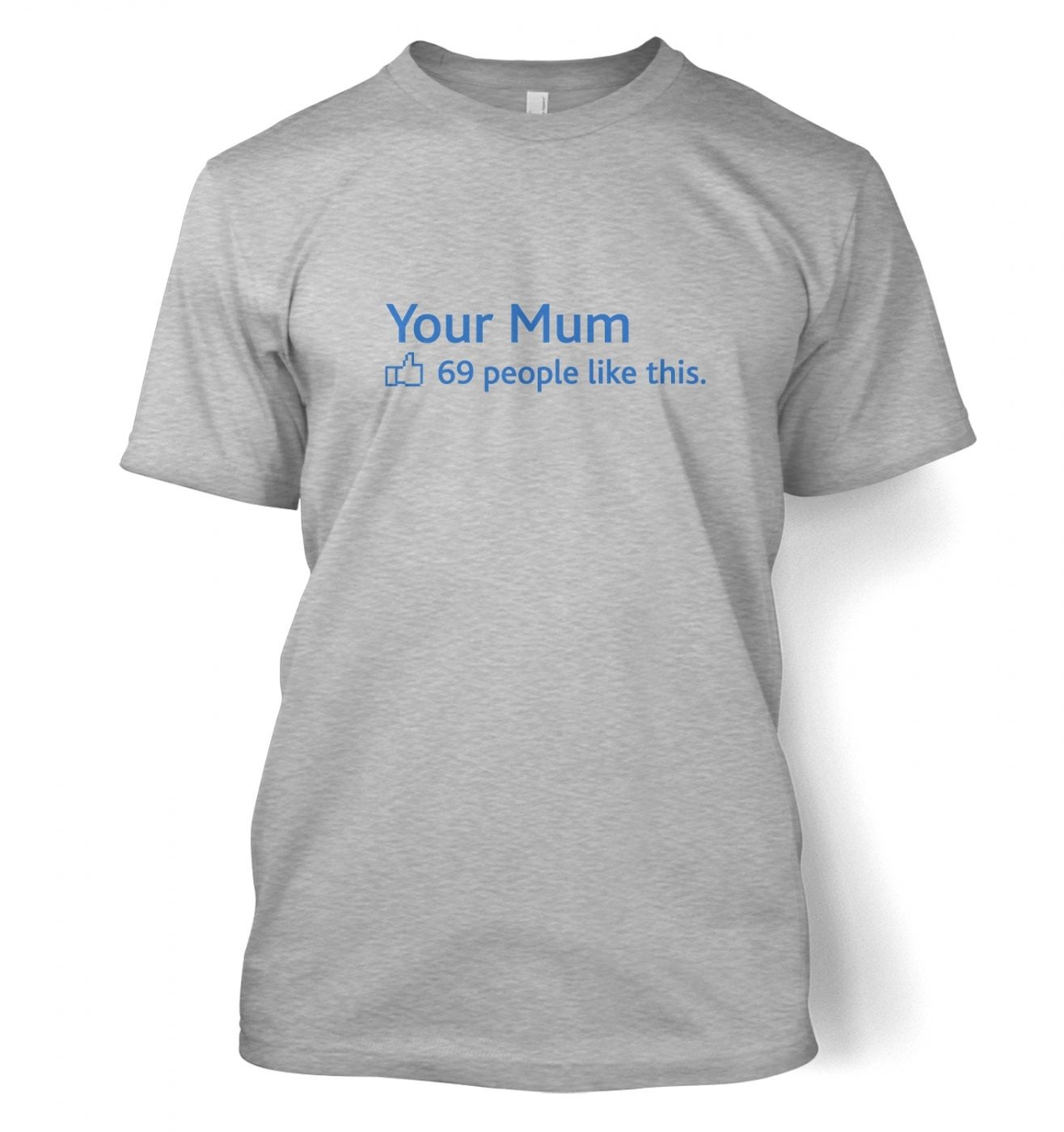 Your Mum Social Status men's t-shirt