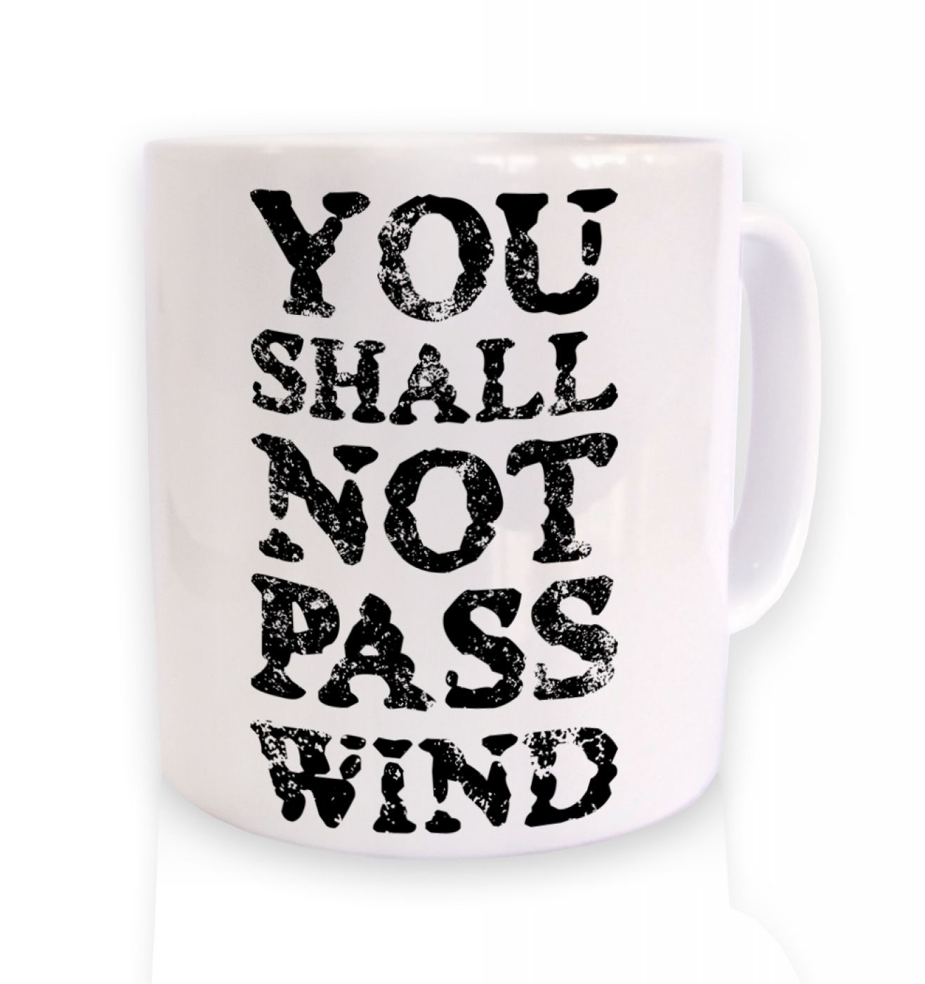 you shall not pass wind mug