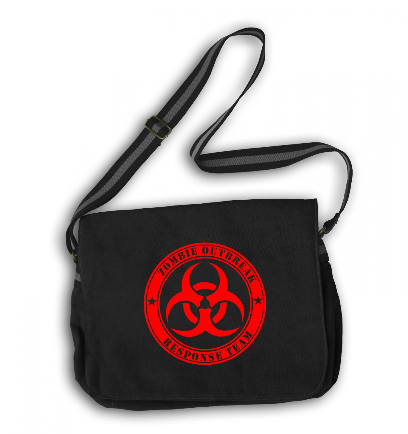 Zombie Outbreak Response Team messenger bag - Zombie school bag