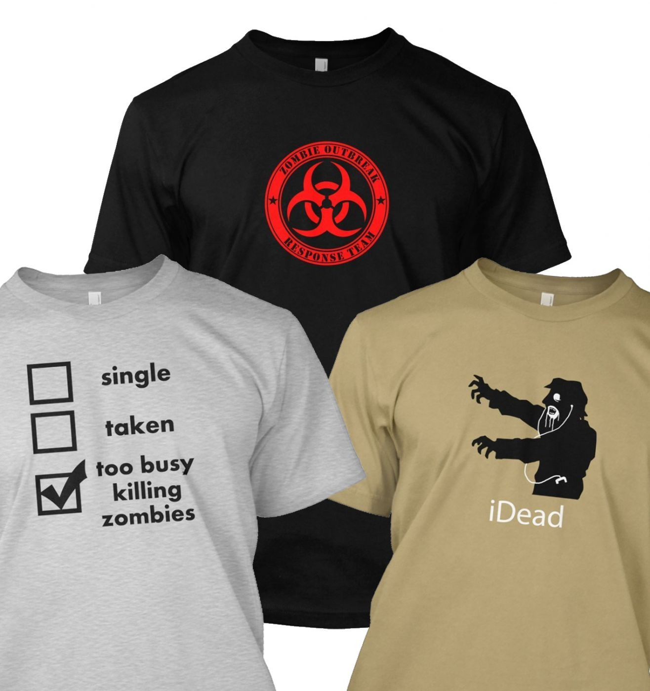 Zombie t-shirt bundle