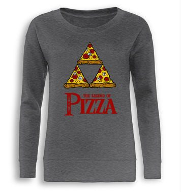 Legend Of Pizza fitted women's sweatshirt