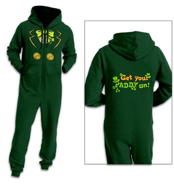 Leprechaun Costume adult onesie