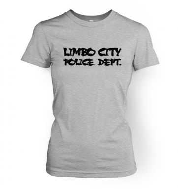 Limbo City Police Department  womens t-shirt