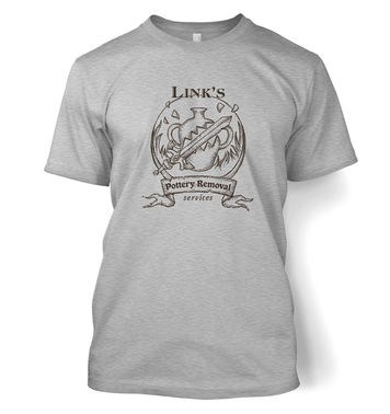 Link's Pottery Removal t-shirt