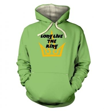 Long Live The King hoodie (premium)