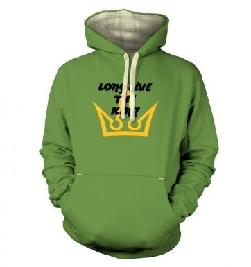 Long Live The King premium hoodie