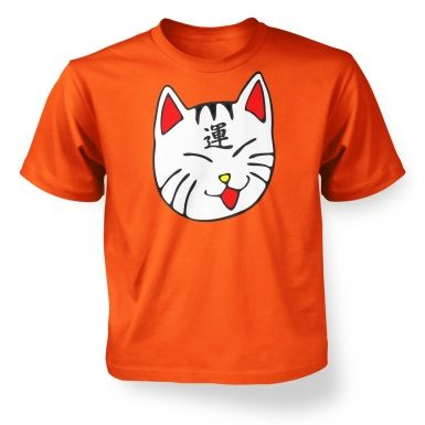 Lucky Cat  kids t-shirt