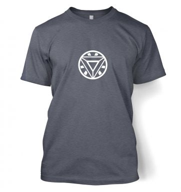 Mark 42 Arc Reactor men's t-shirt