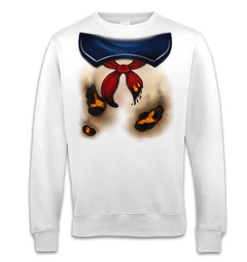 Marshmallow Man Costume sweatshirt
