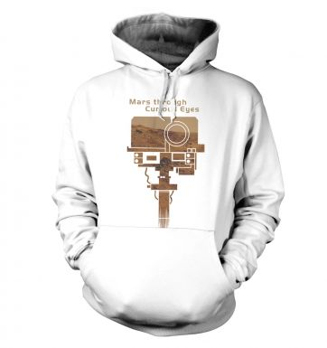 Mars Through Curious Eyes hoodie