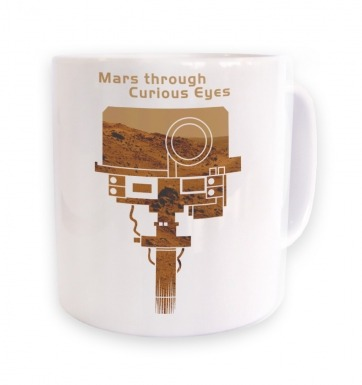 Mars Through Curious Eyes mug