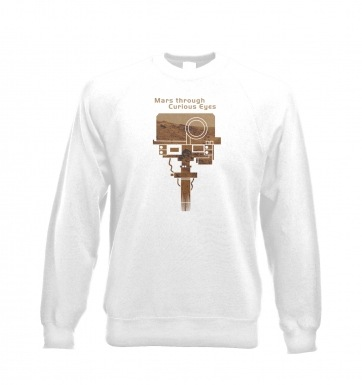 Mars Through Curious Eyes sweatshirt