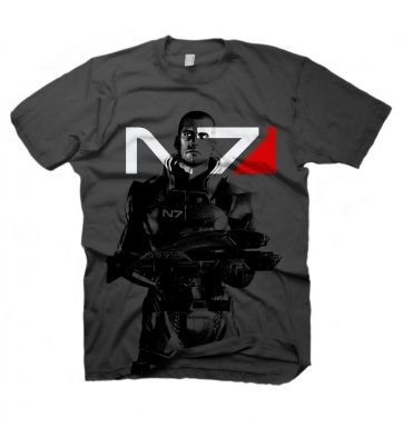 Mass Effect 2 X-Ray Shepard t-shirt - OFFICIAL
