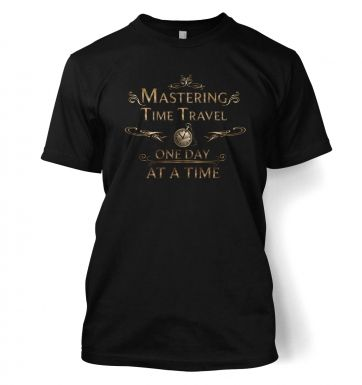 Mastering Time Travel (ornate) t-shirt