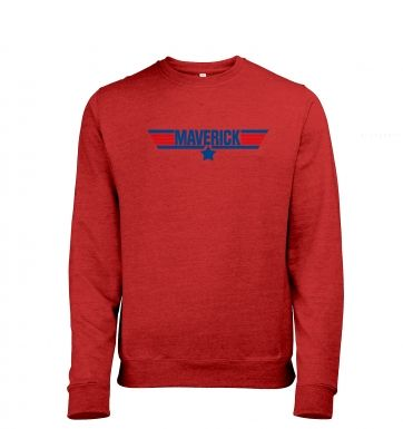 Maverick heather sweatshirt