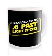.6 Past Light Speed Mug