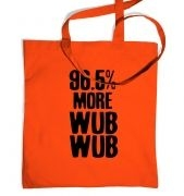 96.5% More WubWub tote bag