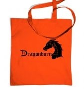 Dragonborn tote bag