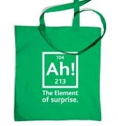 Ah! The Element Of Surprise tote bag