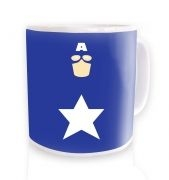 All American Hero ceramic coffee mug