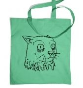 Anxiety Cat tote bag