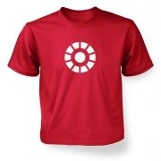 Arc Reactor kid's t-shirt