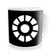 Arc Reactor ceramic coffee mug