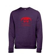Arrow In The Knee (red detail) men's heather sweatshirt
