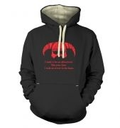 Arrow In The Knee (red detail) premium hoodie