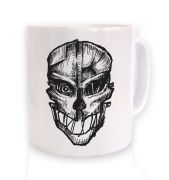 Assassin's Mask ceramic coffee mug