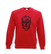 Assassin's Mask crewneck sweatshirt