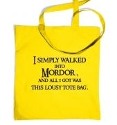 A tote bag from Mordor