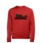 Bah humbug! Men's heather sweatshirt