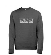 BaZnGa men's heather sweatshirt