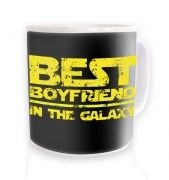 Best Boyfriend In The Galaxy ceramic coffee mug