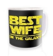 Best Wife In The Galaxy mug