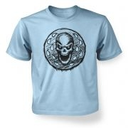 Skull Coin  kids t-shirt