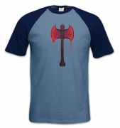 Bloody Axe short-sleeved baseball t-shirt