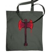 Bloody Axe tote bag