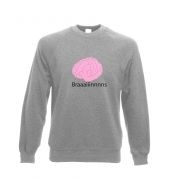 Braaaains Adult Crewneck Sweatshirt