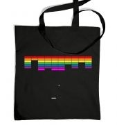 Retro Arcade Style (multi-colour) tote bag