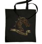 Bronze Dragonslayer tote bag