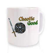 Cartoon Alignment Chaotic Good mug