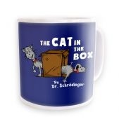Cat In The Box Dr Schrodinger  mug