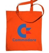 Commodore Logo tote bag 