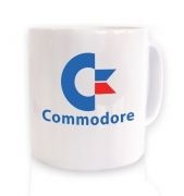 Commodore Logo ceramic coffee mug