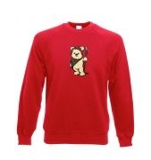 Cute Ewok Adult Crewneck Sweatshirt