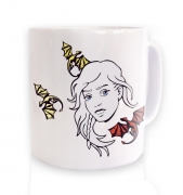 Daenerys With Dragons  mug