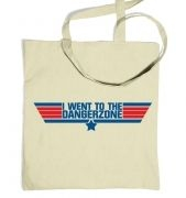 Dangerzone tote bag