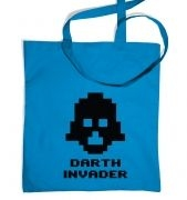 Darth Invader tote bag